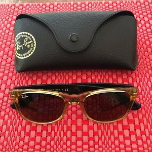Ray-Ban Wayfarer sunglasses, Honey/Black